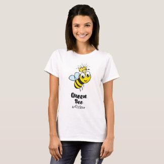 T-shirt La reine des abeilles mignonne gaffent l'abeille