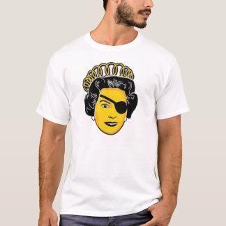 T-shirt La Reine Elizabeth de pirate