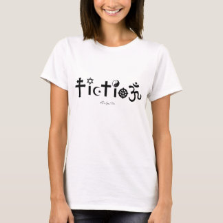 T-shirt La religion est fiction