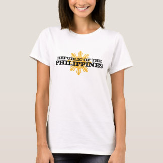 T-shirt La république des Philippines