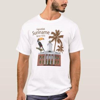 T-shirt La république le Surinam 1975