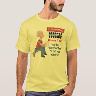 T-shirt La retraite drôle le sait tout