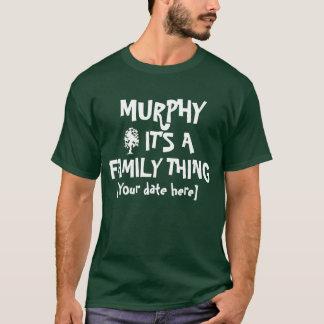 T-shirt La Réunion de famille de Murphy
