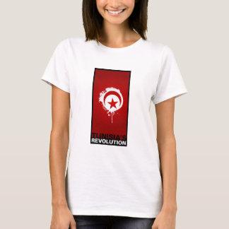 """T-shirt La """"révolution de la Tunisie """""""