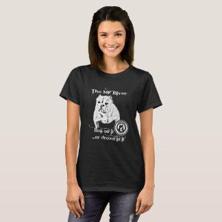 T-shirt La rivière de MF - petit Taureau de BBC