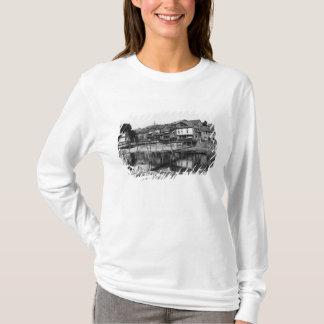 T-shirt La rivière Nahe, Bad Kreuznach, c.1910