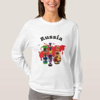 T-shirt La Russie - Russia Babuschka Matrjoschka
