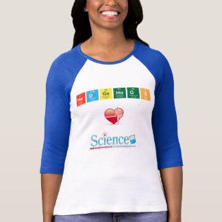T-shirt La Science d'amour de hérissons