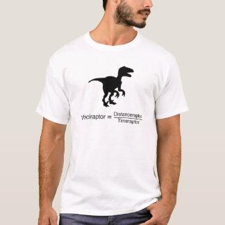 T-shirt la science drôle de velociraptor