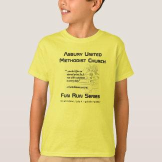 T-shirt La série de course d'amusement d'Asbury badine la