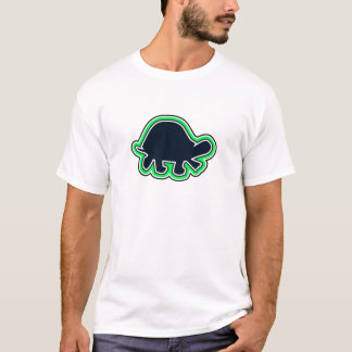 T-shirt La série une de tortue de carcasse