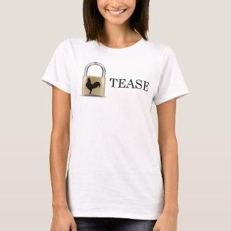 T-shirt La serrure de chasteté taquinent