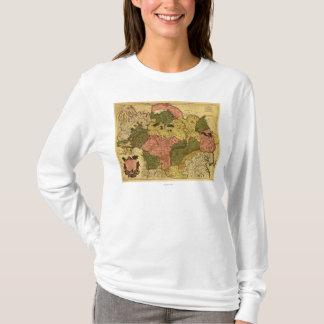 T-shirt La Sibérie, RussiaPanoramic MapSiberia, Russie
