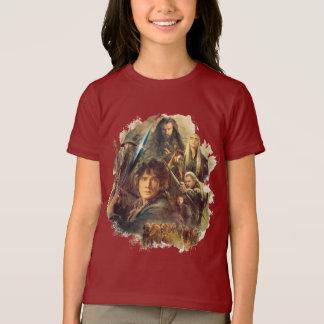 T-shirt La société et les elfes de Mirkwood