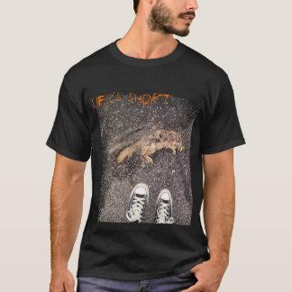 T-shirt la vie courte