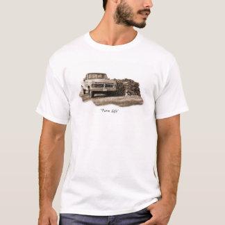T-shirt La vie de ferme - camion