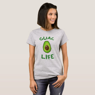 T-shirt La VIE de GUAC (guacamole) - vert