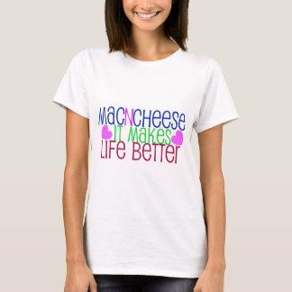 T-shirt La vie de Mac et de fromage