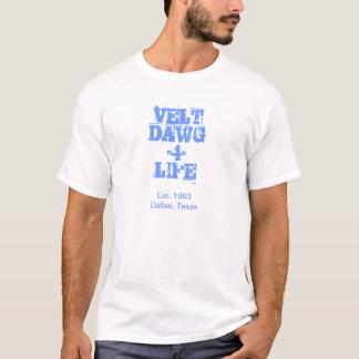 T-shirt La vie du mustang 4 de FDR - pièce en t