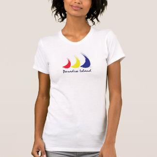 T-shirt La vie est une île de