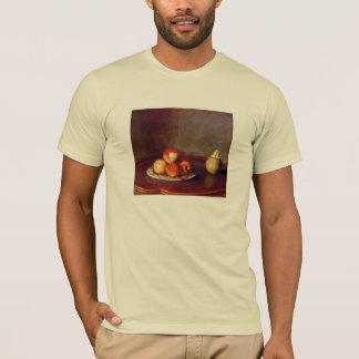T-shirt La vie toujours avec des pêches par Jean Liotard