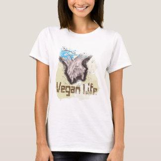 T-shirt La vie végétalienne