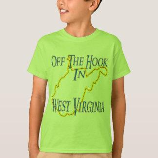 T-shirt La Virginie Occidentale - outre du crochet