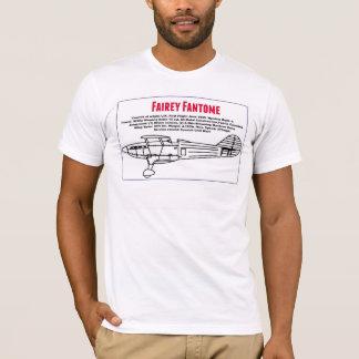T-shirt La vue de côté et les caractéristiques de Fairey