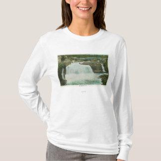 T-shirt La vue de l'arc-en-ciel tombe # 2