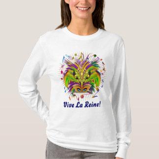 T-shirt La vue de lumière de la Reine de mardi gras note