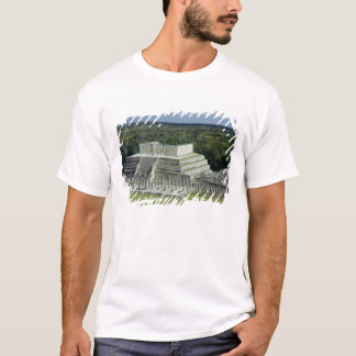 T-shirt La vue du temple des guerriers signalent l'ANNONCE