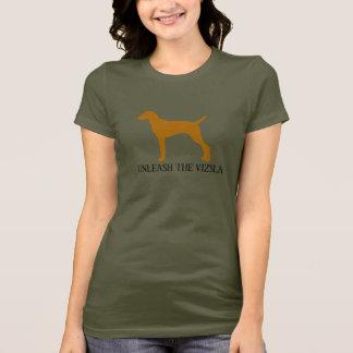 T-shirt LÂCHEZ LE VIZSLA (l'armée)