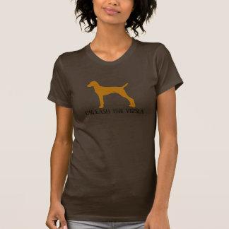 T-shirt LÂCHEZ LE VIZSLA (le brun)