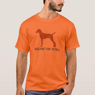 T-shirt LÂCHEZ LE VIZSLA (orange)
