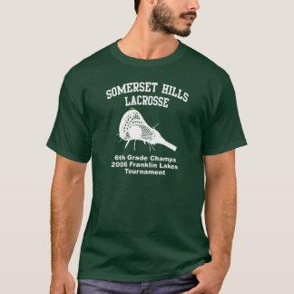 T-shirt Lacrosse de collines de Somerset
