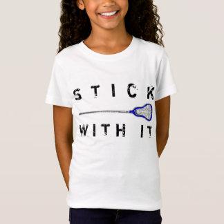 T-Shirt Lacrosse de filles