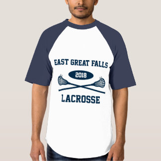 T-shirt Lacrosse est de Great Falls