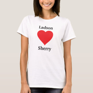 T-shirt Ladson aime le xérès