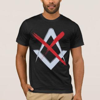 T-shirt L'adversaire mason/No Masons