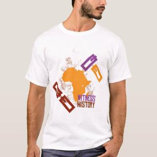 T-shirt L'Afrique pour l'Afrique par Dssengendo - histoire