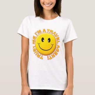 T-shirt L'agent de voyage me font confiance