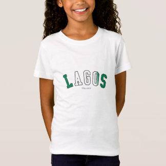T-Shirt Lagos dans des couleurs de drapeau national du