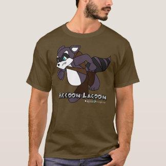 T-shirt Lagune de raton laveur - pièce en t de Duncan