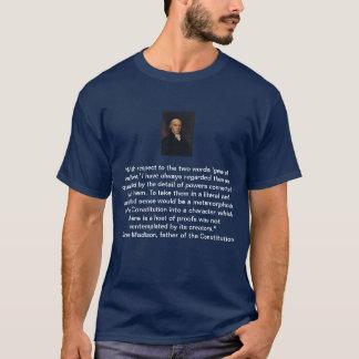 T-shirt L'aide sociale générale de James Madison