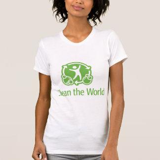 T-shirt Laisse nettoyer le monde ensemble !