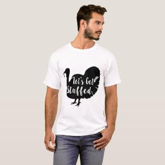 T-shirt laisse obtenir bourré