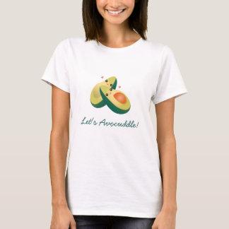 T-shirt Laissez-nous humour mignon drôle de calembour