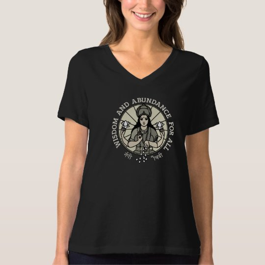 T shirt Lakshmi woman T-shirt