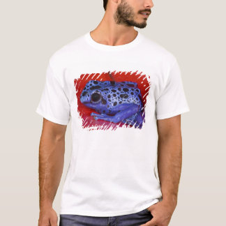 T-shirt L'Amérique du Sud, république du Surinam. Plan