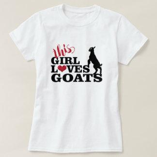 T-shirt L'AMOUR | de CHÈVRE cette fille aime le bébé